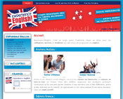 Experience-English - a CMS - learning English in France