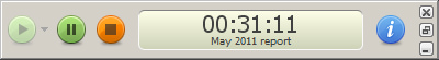 Screenshot of Fanurio's mini timer