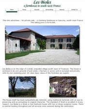 Les Bioles - a property sale
