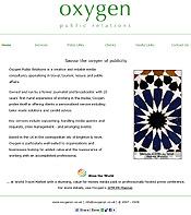 Oxygen - public relations