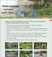 Plantes et Paysages - a Drupal CMS