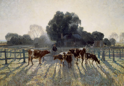 2/5 Spring Frost by Elioth Gruner, 1919