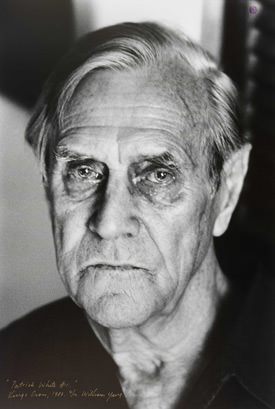 Portrait of Patrick White © William Yang, 1980
