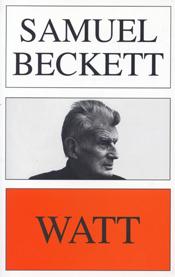 Samuel Beckett Watt book jacket