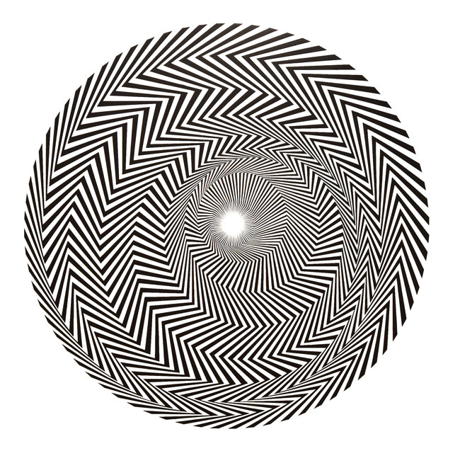 2/10 Blaze 1 by Bridget Riley, 1962