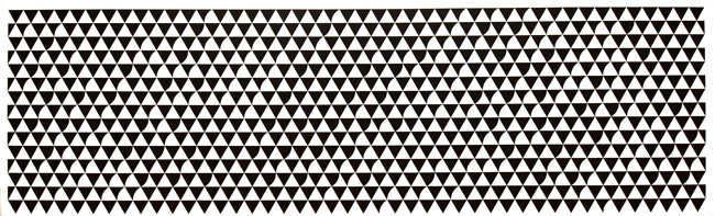 3/10 Cascando by Bridget Riley, 2015