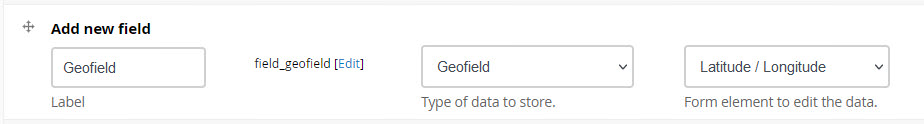 Adding a Geofield field to a content type in Backdrop