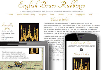English Brass Rubbings - a private on-line sale