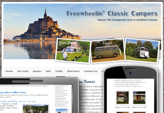 Freewheelin' campers - classic VW campervan hire