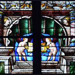 One more detail from the stained-glass windows of Arnaud de Moles at Auch Cathedral
