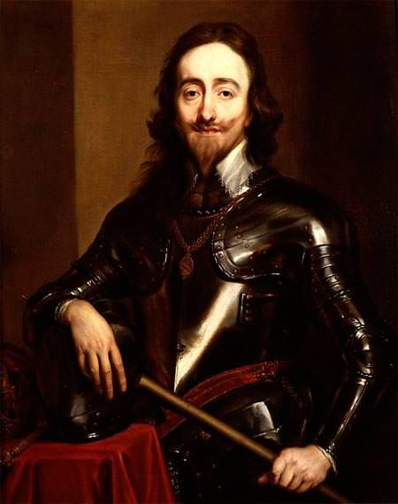 Van Dyck's portrait of Charles I