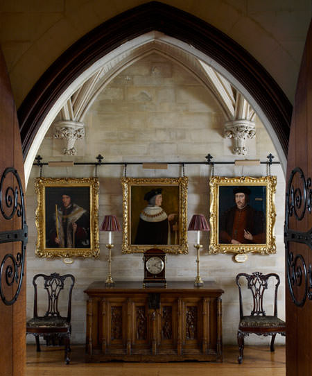 Part of Arundel Castle Picture Gallery