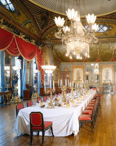 Brighton's Royal Pavilion Banqueting Room