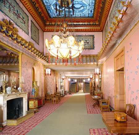 The Long Gallery of Brighton's Royal Pavilion