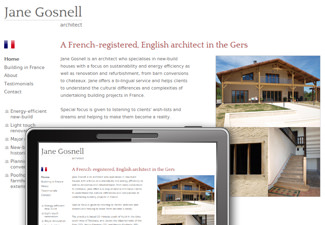 Jane Gosnell - English-speaking architect in the Gers