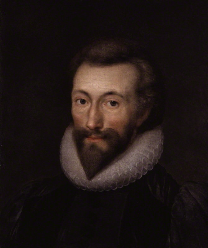 Isaac Oliver's portrait of John Donne