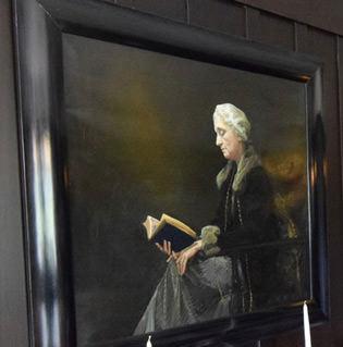 Portrait of Anna Blackie, Walter Blackie's wife