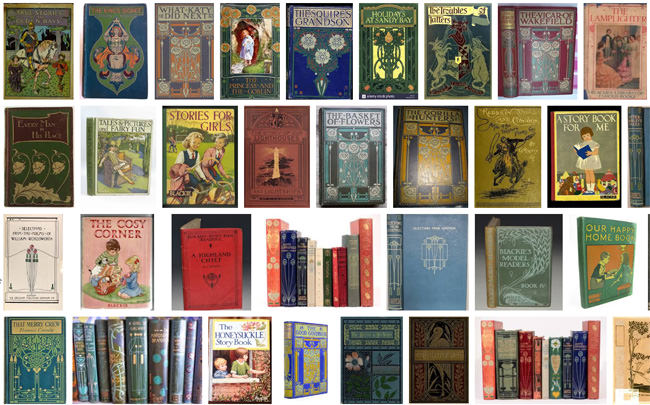 A sample of book jackets of Blackie and Sons publications