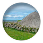 3/12 Bostah Iron Age Village, Great Bernera, Isle of Lewis, CE 400 - 800, reconstructed
