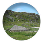 1/12 Bostah Iron Age Village, Great Bernera, Isle of Lewis, CE 400 - 800, reconstructed