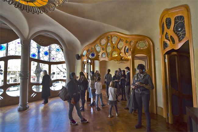 Casa Batlló's principal front salon