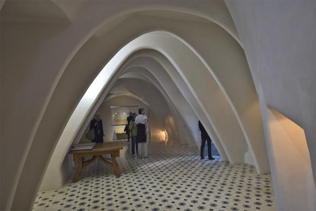 Casa Batlló's roof space