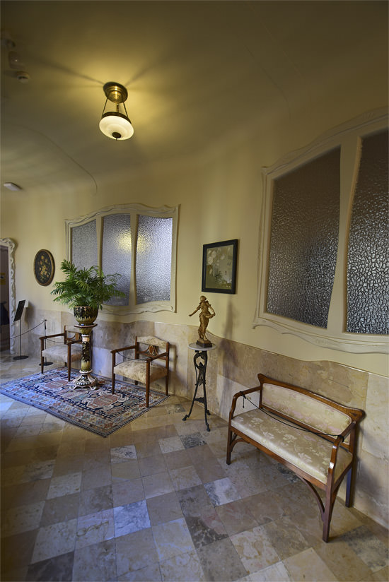 Part of La Casa Milà's apartment