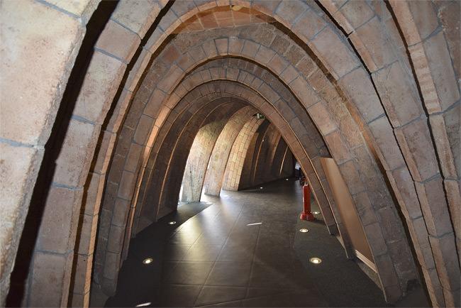 11/13 La Casa Milà's vaulted roof space