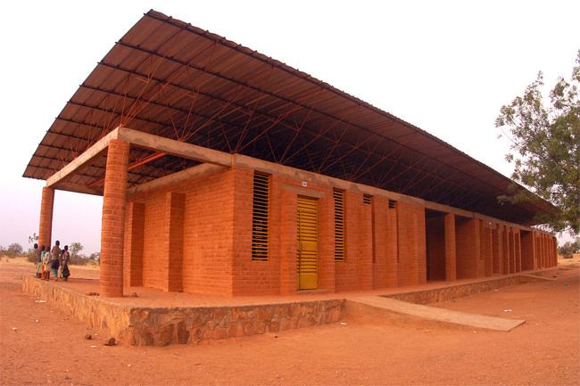 4/5 The Gando School Burkina Faso