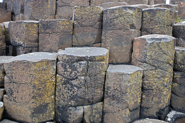 Basalt columns on the Grand Causeway