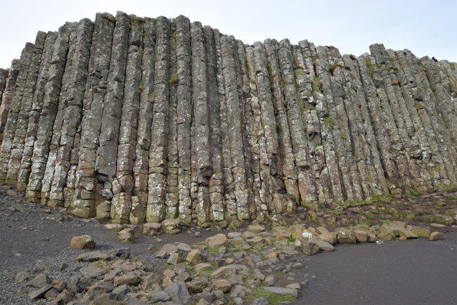 The Giant's Loom, an array of columns reaching 10 metres in height