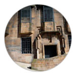 The Glasgow School of Art - west façade