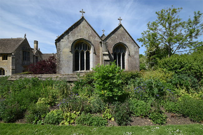 12/16 The Church of All Saints at Chalfield Manor