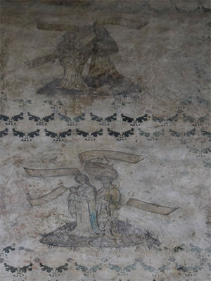 Chapel frescoes, detail