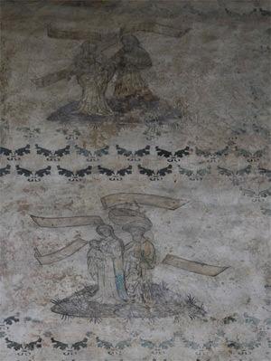22/25 Chapel frescoes, detail