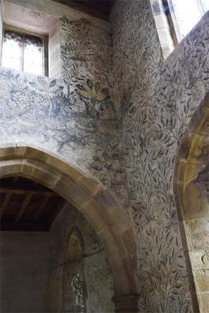 24/25 Chapel frescoes, detail
