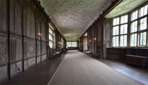 Haddon's 110 feet long, Elizabethan Long Gallery