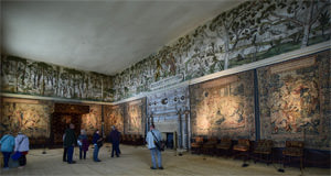 Hardwick Hall's High Great Chamber