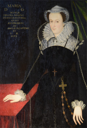 Full-length portrait of Mary Queen of Scots
