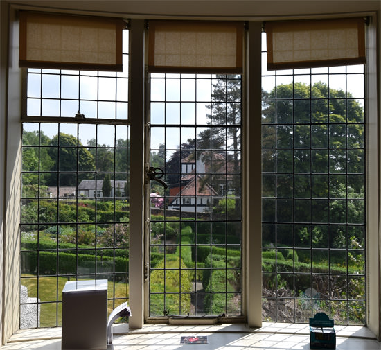 View from the children's bedroom looking east