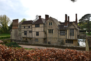 Ightham Mote from the east