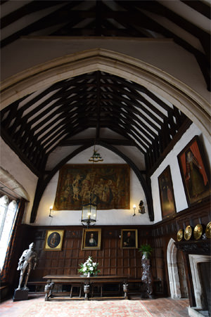 Ightham Mote's Great Hall