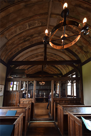 The new chapel at Ightham Mote
