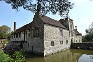 3/16 Ightham Mote from the north-west