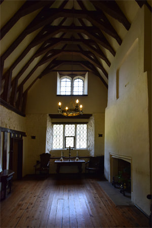The old chapel at Ightham Mote
