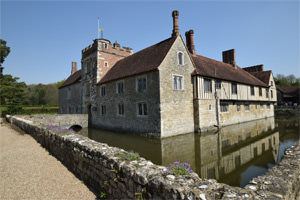 Ightham Mote from the south-west