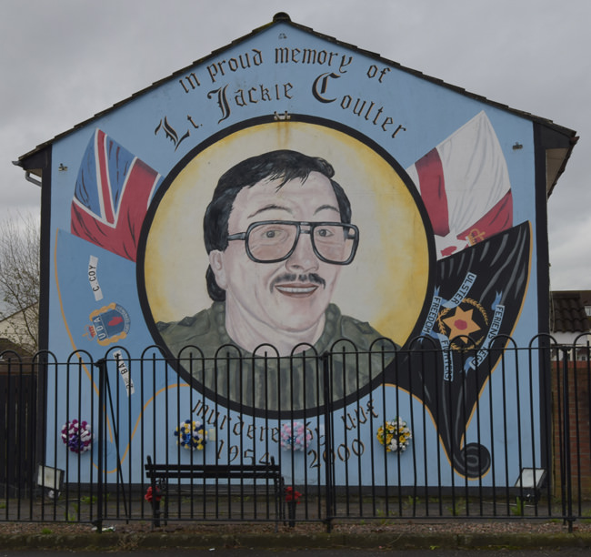 The Jackie Coulter mural