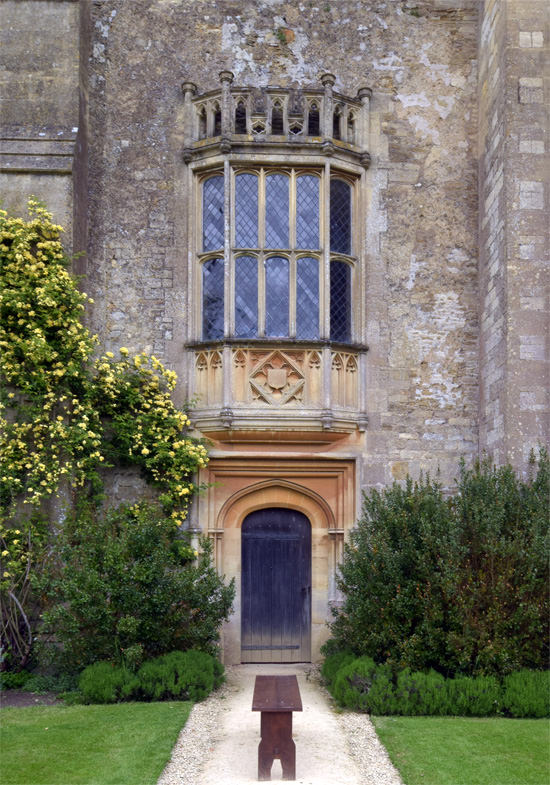 The Abbey's oriel window that Fox Talbot photographed in the what is thought to be the world's first photographic negative