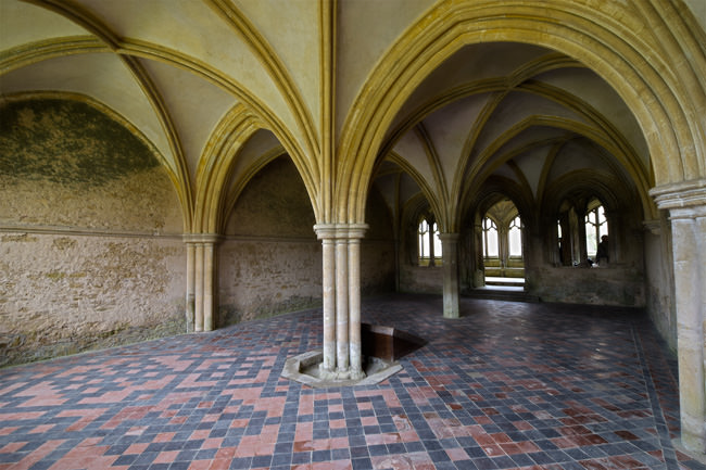 Lacock Abbey's Chapter House