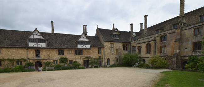 Part of Lacock's Stable Court